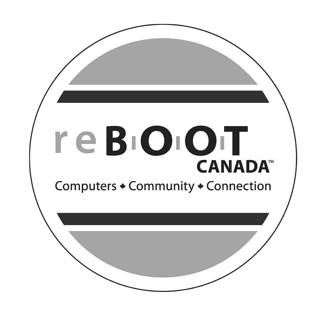 Reboot Canada Logo black and white