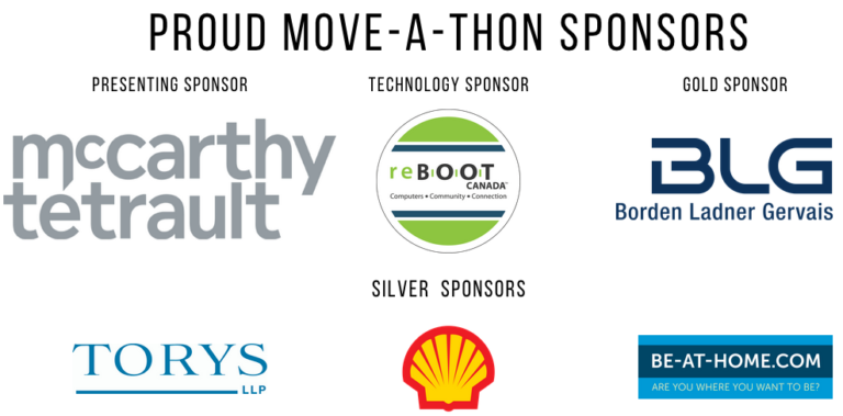 YAY Youth Sponsors 2020 Moveathon